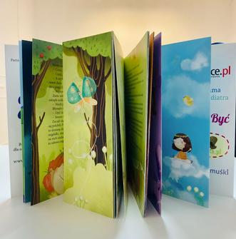 Wróżka Zuzia icudowne dzieci - strony książki